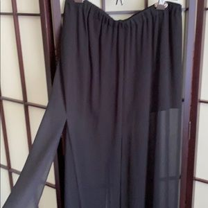 Micheal Kors Dress Shorts w Split Overlay Panels